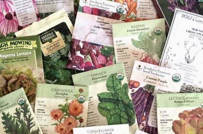 How to Read Seed Packets